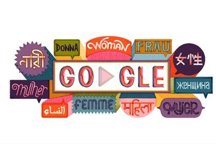 Melissa Crowton diseñó la imagen de apertura en el doodle de hoyb(Foto: Google)