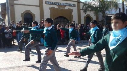 Participaron los 307 alumnos de toda la escuela