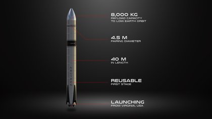Features of the new Neutron rocket