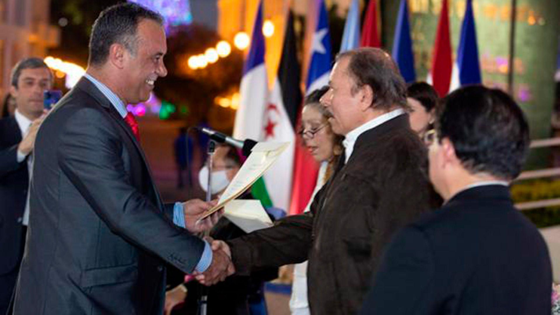 Mateo Daniel Capitanich. Embajador en Nicaragua