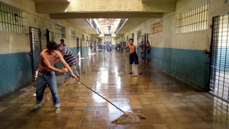 El interiorde la cárcel La Modelo (Archivo de La Prensa de Nicaragua)