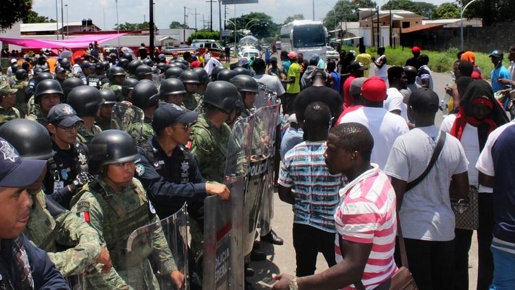 En Chiapas se han registrado conatos de enfrentamientos con las autoridades. (EFE)