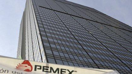Vista de la Torre Corporativa de Petróleos Mexicanos (PEMEX), ubicada en Ciudad de México. EFE/Mario Guzmán/Archivo