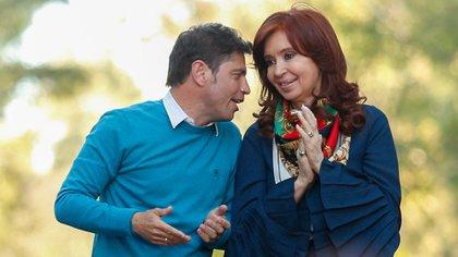 Cristina Kirchner y Axel Kicillof