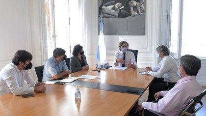 En Casa de Gobierno ya se lleva adelante la segunda reunión entre las autoridades nacionales, bonaerenses y porteñas (Presidencia)