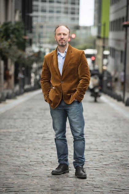 Fabián Bosoer, periodista e historiador. Foto: Guillermo Llamos.