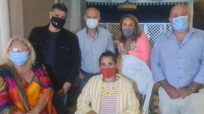 Elisa Carrió se reunió con Jorge Macri y Néstor Grindetti, del PRO