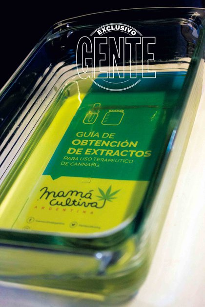 El aceite de cannabis que produce la ONG Mamá Cultiva.