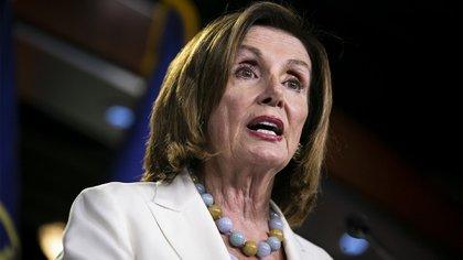 Nancy Pelosi. (Photographer: Al Drago/Bloomberg)