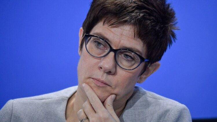 Annegret Kramp- Karrenbauer (AFP)