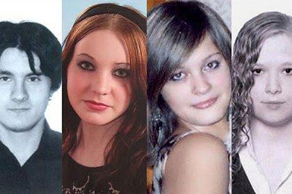 Los protagonistas de esta atroz historia: Manuel, el novio de Klara; Raquel Carlés Torrejón, de 17 años, Klara García Casado, la víctima; e Iria Suárez, de 16 años