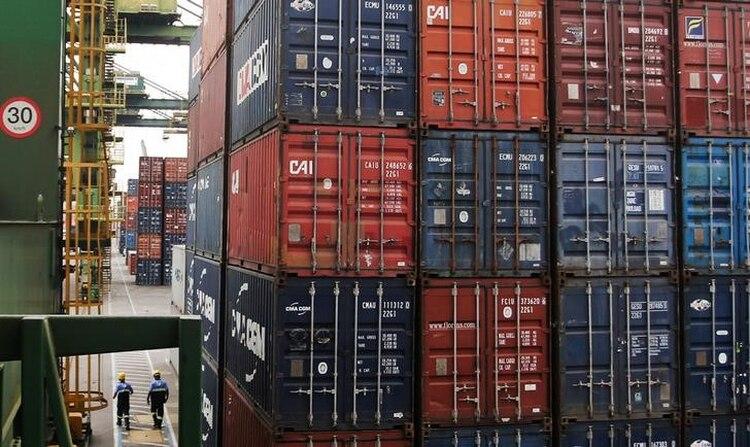El puerto de Santos es una de las terminales containeras más importantes de la región