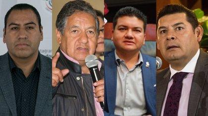 Cuatro senadores de Morena encabezan las aspiraciones para ser presidentes de la Cámara Alta (Foto: Cuartoscuro/ Twitter)