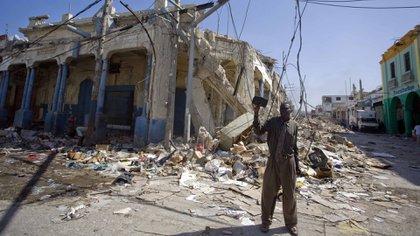 Haití todavía peleaba para recuperarse de las devastadoras consecuencias del terremoto de hace siete años