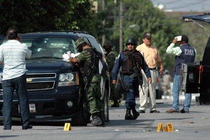 Trece supuestos miembros de la Tropa del Infierno fueron abatidos por militares, luego de un enfrentamiento armado (Foto: EFE/Marcos Esquivel)