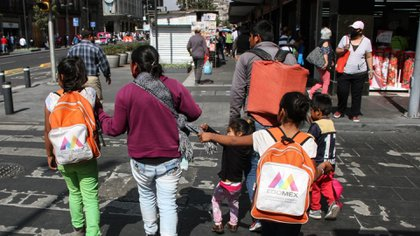 Campeche would have to vaccinate 24,092 workers to return to face-to-face classes in February (Photo: Cuartoscuro)