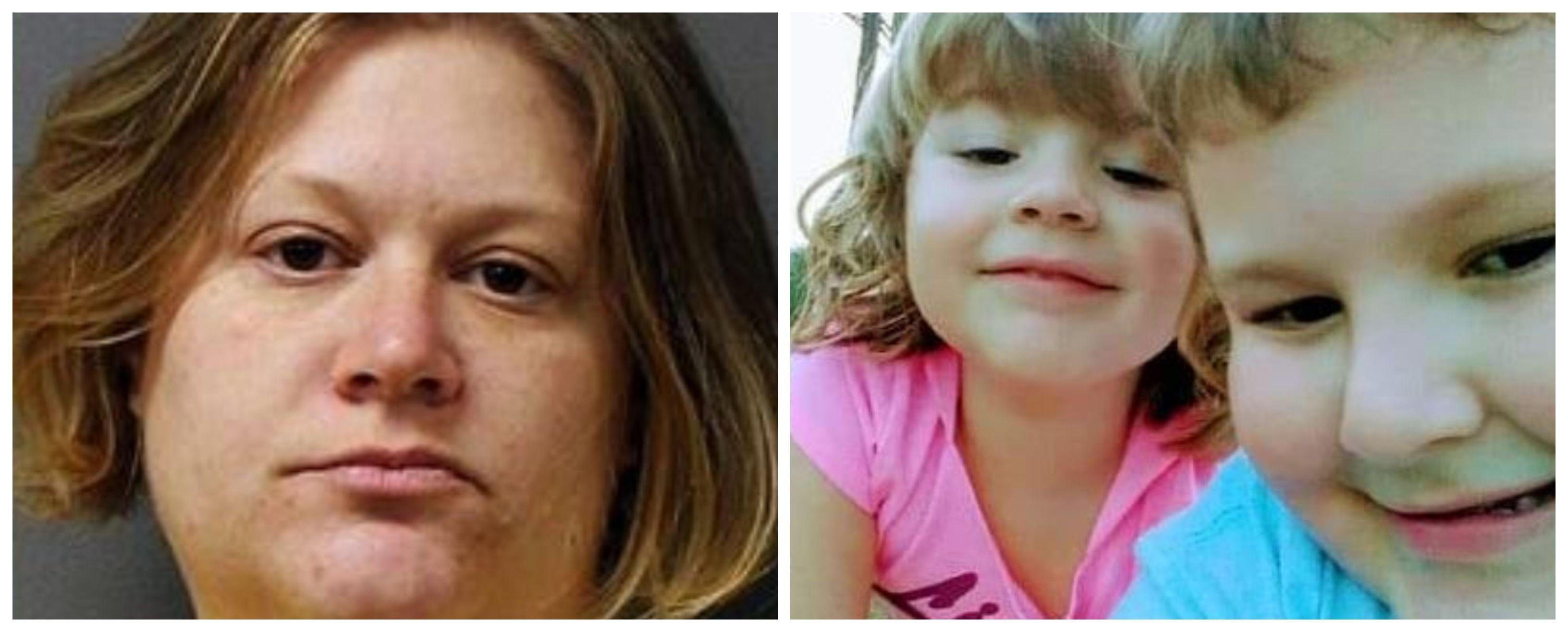Lisa Snyder fue detenida y encarcelada por ser la presunta responsable del asesinato de sus dos hijos menores de edad (Foto: Berks County Jail System y Facebook)