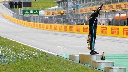 Lewis Hamilton ganó el Gran Premio de Estiria (Foto: Reuters/Leonhard Foeger)