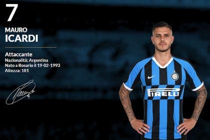 A Mauro Icardi le quitaron la cinta de capitán y la camiseta número 9