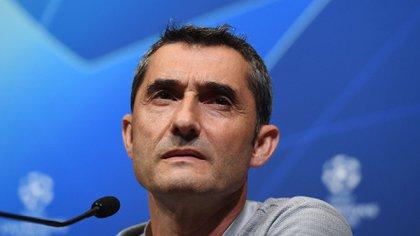 Valverde fue muy criticado tras la derrota por Champions League (EFE)