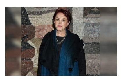 La actriz padeció de una hemorragia pulmonar como consecuencia del COVID-19 (Foto: Especial)