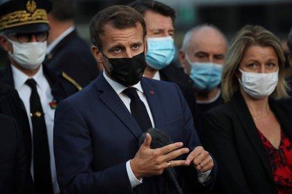 El presidente francés, Emmanuel Macron. EFE/EPA/Daniel Cole / Archivo
