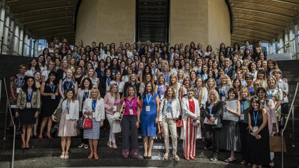 Mujeres del sector público y privado participaron del diálogo nacional que elaborará propuestas de género para elG20. Martes 27 de febrero de 2018. Capital Federal, Buenos Aires, Argentina