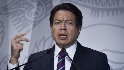 Rechazan la caída de Mario Delgado por Muñoz Ledo en una encuesta dirigida por Morena (Foto: Quartoscoro)