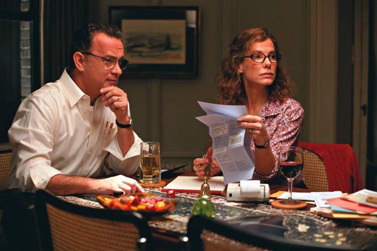 "Tom Hanks y Sandra Bullock en ""Tan fuerte, tan cerca"""