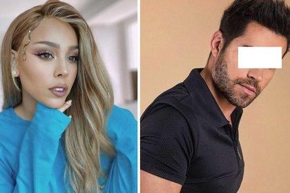 """La actriz estuvo en una relación con Eleazar """"N"""" (Foto: Instagram de Danna Paola y Eleazar Gómez)"""