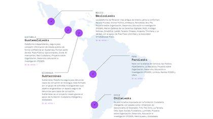 La plataforma LatamLeaks, para denuncias online