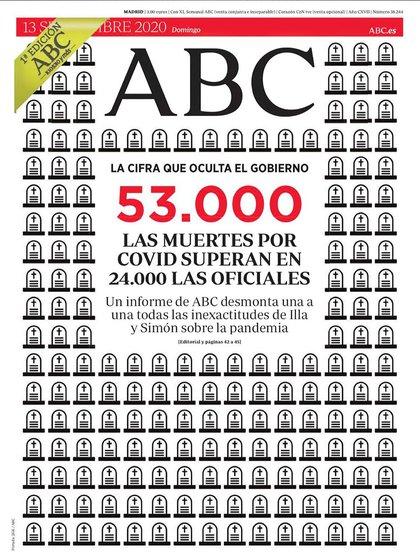 La impactante portada de ABC