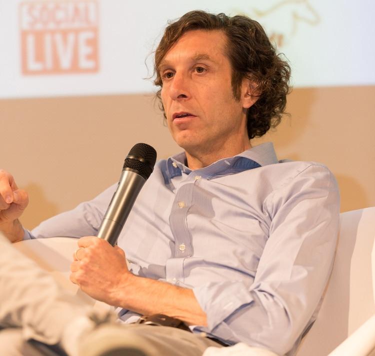 Leandro Sigman, presidente de Insud Pharma. Hijo de Hugo Sigman que vive en Madrid.