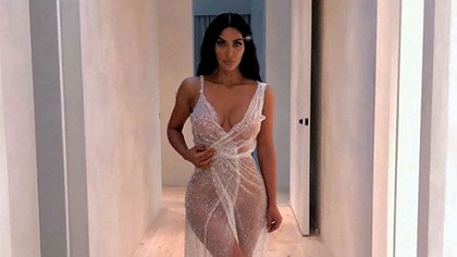 La nueva imagen de Kim Kardashian que fue furor en Instagram