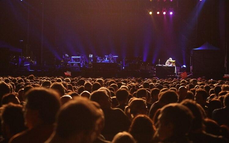 Una multitud acompañó el show en el Campo Argentino de Polo (Christian Bochichio)