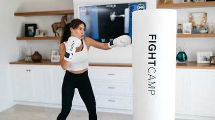 El sistema de boxeo FightCamp