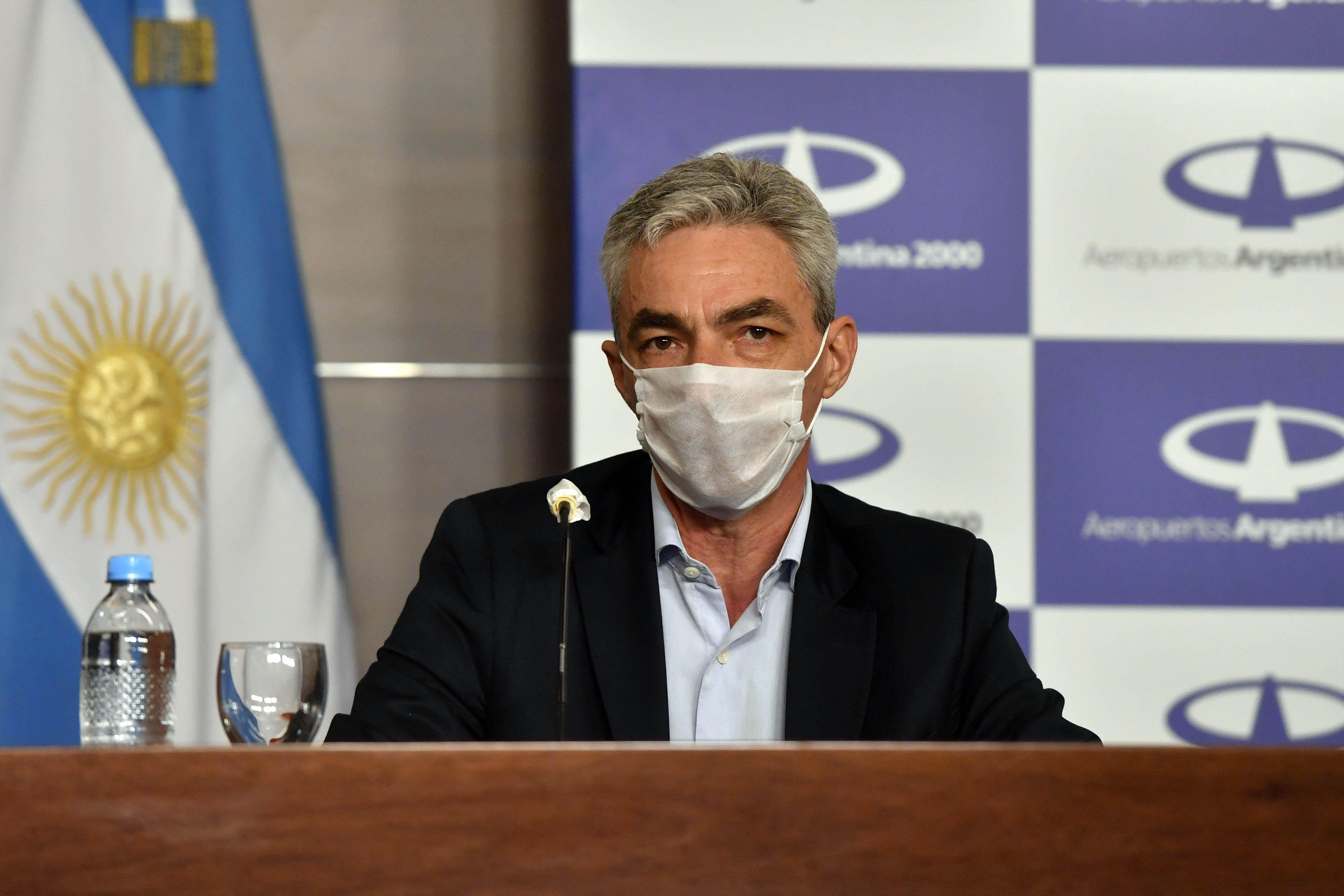 Conferencia de prensa de Ginés, Meoni y Ceriani
