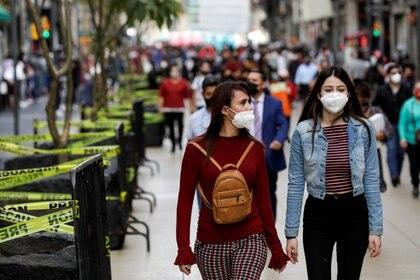 En el Valle de México ha habido un gran repunte de casos de COVID-19 (Foto: REUTERS/Gustavo Graf)