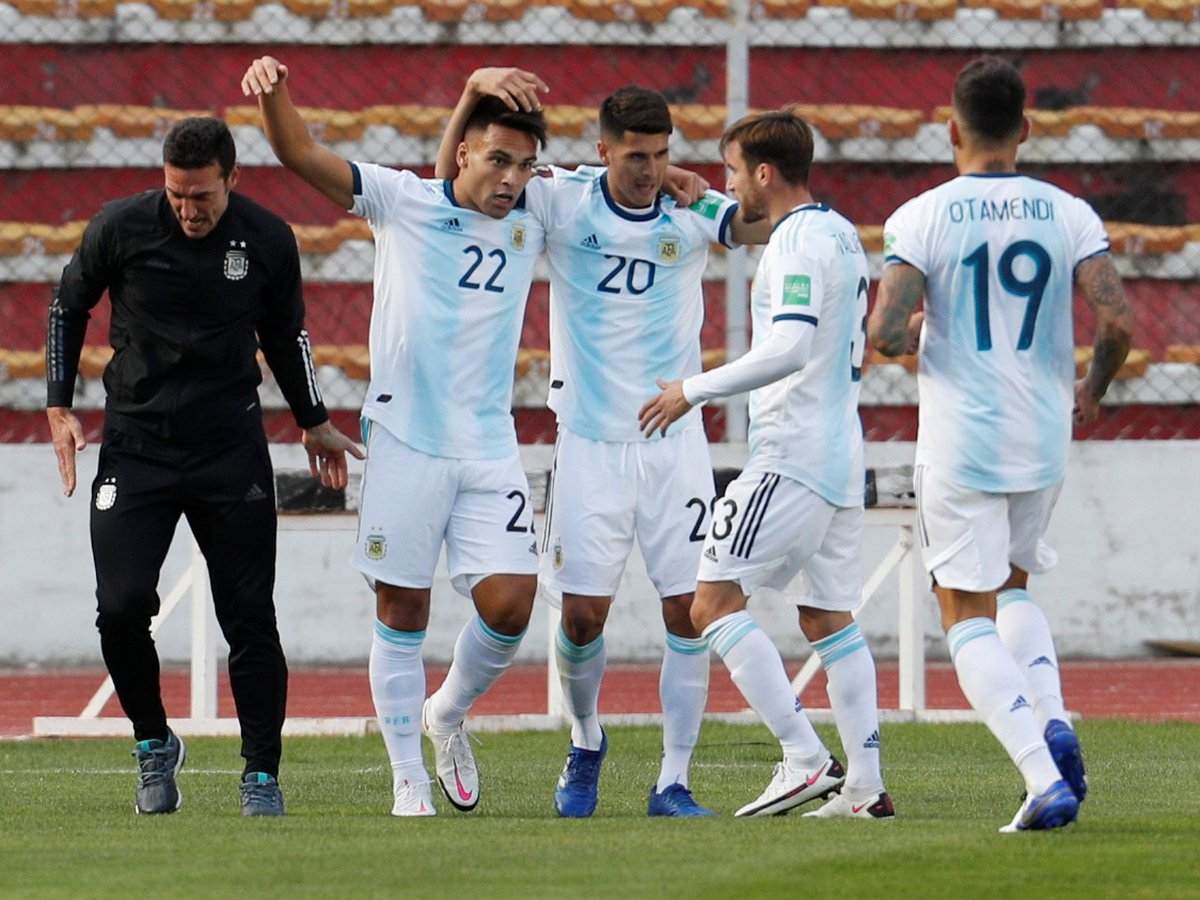La selección argentina supera a Bolivia en la altura de La Paz - Infobae