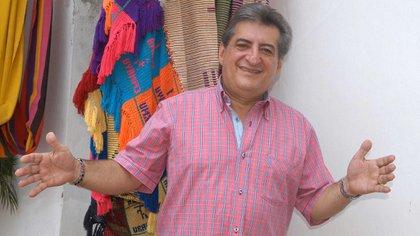Jorge Oñate, cantante vallenato colombiano. Foto: Colprensa.