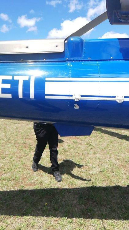 Disparos en el helicóptero policial que era parte del operativo desarrollado por la PDI