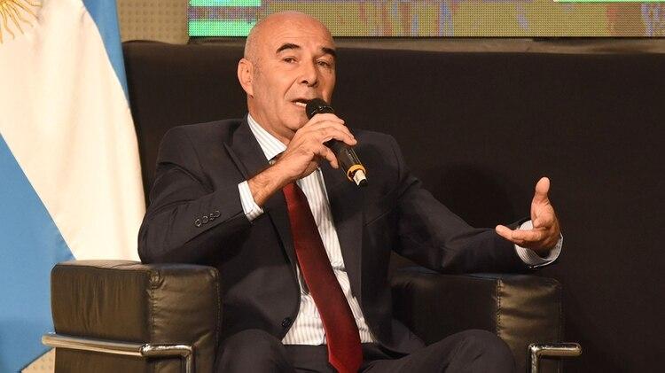 Juan José Gómez Centurión, candidatos por el Frente NOS (Franco Fafasuli)