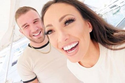 Aaron Armstrong y Sophie Gradon. El novio de la modelo está devastado por la noticia