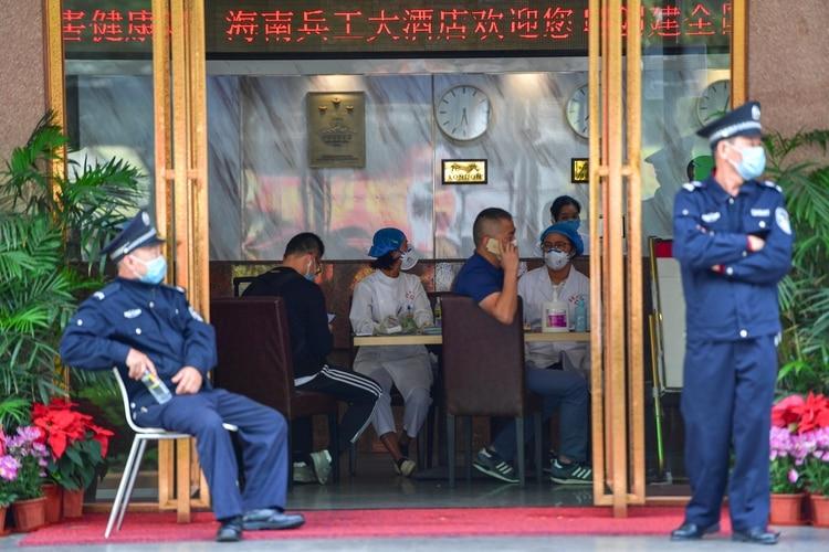 Las autoridades en alerta (REUTERS)