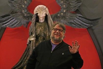 """Guillermo Del Toro presentó su exposición """"En casa con mis monstruos"""" en Guadalajara en 2019 (Foto: Cuartoscuro)"""