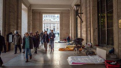 Pobreza en Italia (Shutterstock)
