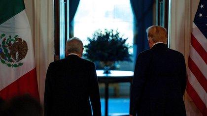AMLO Trump (Foto: EFE)