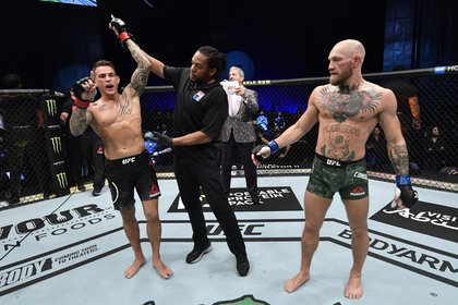 The American won with a resounding knockout (USA TODAY Sports)