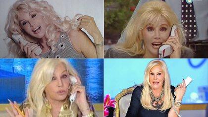 Desde su consolidación en la pantalla argentina, a inicios de la década del '70, Susana Giménez se posicionó como una referente fashion en el país.