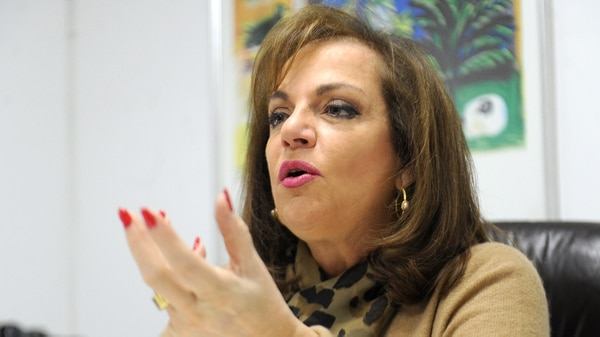 Nilda Garré (Télam)